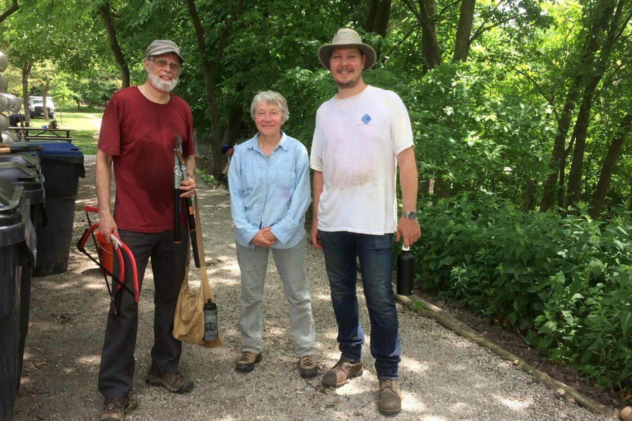 Arboretum volunteers